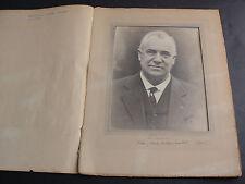 Vintage 1920 - Portrait Portfolio- Man, Suit, Tie, Smiling Face, Original Photo.