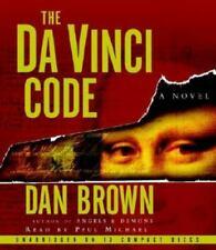 The Da Vinci Code by Dan Brown (2003, Audio Book Cd) Unabridged Good Condition