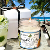 Handmade, Soy Candle 4oz. Margarita, AMAZING SCENT! Gift Box Free Shipping!