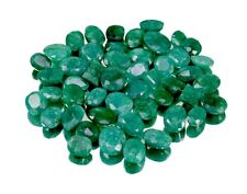 200ct 47pc Natural Green Emerald Faceted Loose Gemstones Wholesale Lot