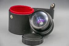 SUPER ORION 28mm 1:2.8 f=28mm M42-Anschluss + Cozo UV 52mm Filtr + Original Case