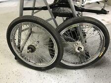 Haro Heffer Pro + Mega Hubs & MS3 Tires Polished Rims/Wheels