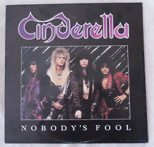 MAXI 45 TOURS 30 cm CINDERELLA NOBODY'S FOOL MADE IN HOLLAND1986