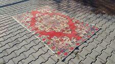 Area rug,3x6 ft,Turkish Rug,Anatolian Rug,Bohemian,Vintage rug,Oushak Rug,kilim