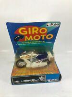 GIRO MOTO POLISTIL 500 ZS vintage MOTORCYCLE policar auto mistery action '80