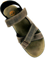 Timberland Breakwater Sport Hiking Sandal Brown Leather Mens Size 10M  87029