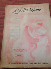 PARTITION LE PETIT PIANO ( ref 28 )