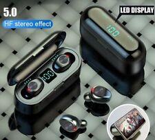Wireless Earphones Bluetooth LED Earbuds