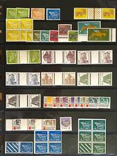 IRELAND1968-93DEFINITIVE COLLECTION COILS,BOOKLET STAMPS,GUTTERS,POSTAGE DUES(71