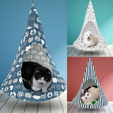 Pet Cat Window Hammock Bed Indoor Tent Small Dog Hamster Hanging Cage Nest House