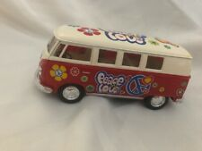 1962 Volkswagon Classical Bus in Red