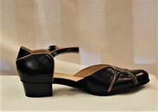 Spring Step Lenna Women's Black Leather Mary Jane
