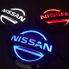 Nissan Kühlergrill Emblem LED Auto Zeichen Beleuchtetes Logo Badge DRL 11.7X10cm