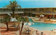 Biloxi Mississippi~The Buena Vista Beach Motel And Hotel~Heated Pool~1950's PC