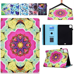 Pattern Wallet Protect Case for iPad 10.2 2021 Pro 11 Air 4 Mini 5 Ipad 9.7 2018