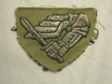 More details for ww2 polish 2nd warsaw armoured division bullion formation badge patch