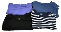 GAP Women's Small 3 Long Sleeve Tops & 1 Long Dress Various Style Tops Lot of 4