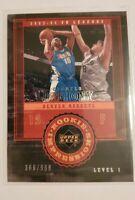 2004 UD Rookie Card NBA Basketball Denver Nuggets Carmelo Anthony 366/999