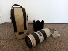 Canon EF 70-200mm F/2.8 L IS II USM Lens.