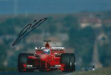 Mika Salo Hand Signed Scuderia Ferrari 12x8 Photo F1 5.