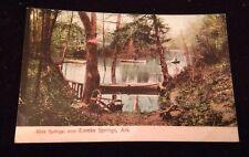 Vintage Eureka Springs AR Postcard Blue Springs Beautiful!