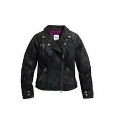 Harley-Davidson Women Waist Length Motorcycle Jackets