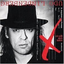 UDO LINDENBERG - ICH WILL DICH HABEN  CD  10 TRACKS DEUTSCH-ROCK & POP  NEUF