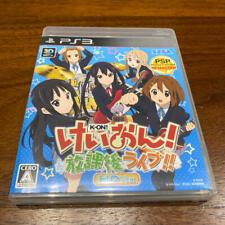 PS3 K-On! Houkago Live!! HD Version SEGA PlayStation 3 Japan Import