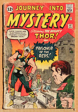 JOURNEY INTO MYSTERY #87, INCOMPLETE, THOR, SILVER AGE MARVEL COMICS LOT OF 1