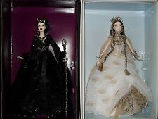 FARAWAY FOREST  LADY OF THE WHITE WOODS QUEEN OF THE DARK FOREST BARBIE DOLL