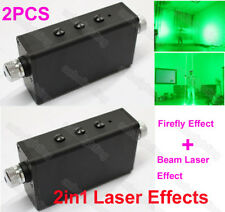2Pcs Double Head Beam Starry Effect Handheld Laser Light Stage Laser Man Show Dj