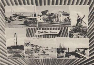 Ansichtskarte Schleswig - Holstein  Wittdün Amrum  Kinderkurheim 1962  Windmühle