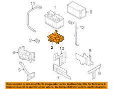 AUDI OEM 00-06 TT Quattro 1.8L-L4-Battery Tray 8N8804373B