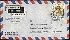 Venezuela 1971 Commercial Airmail Cover To England #C30462