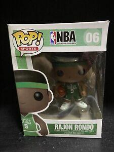 Funko Pop Vinyl Figure Sports NBA Boston Celtics - Rajon Rondo #06 Flawed Box