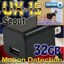 New for 2020 Watadeeel Ux-15 Scout Usb Camera 1080p Genuine Surveillance Cia Fbi