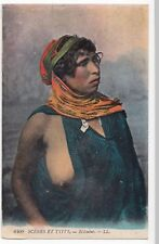 Bedouine, LL No 6409 PPC, Unposted, Bare Breasted Woman in Bedouin Dress