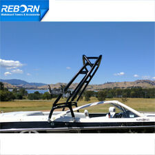 New listing Reborn Launch X Wakeboard Tower Glossy Black Fast Install & Fold Down