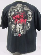 Mens Universal Orlando Halloween Horror Nights HHN Shirt XXL 2XL 25 Carnival