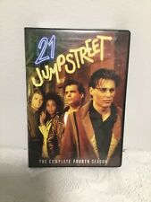 21 JUMPSTREET: THE COMPLETE FOURTH SEASON DVD (2011, 4-DISC) CRIME TV SERIES