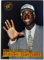 1995 Topps Stadium Club NBA Draft Picks Kevin Garnett Rookie RC #5, Timberwolves