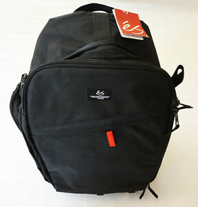éS eS Optic Camera Bag Skate Backpack Black Carry Travel Case Rare New With Tags