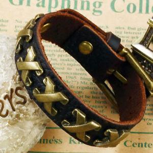 6 Stück Lederarmband Surferarmband Armreif Echtleder Armband  BA100897