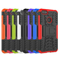Rugged Hybrid Armor Shockproof Case Stand Phone Cover For Motorola Moto E6 Play