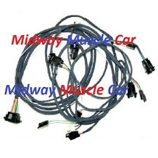 rear body tail light trunk wiring harness 67 68 Chevy Camaro rally sport z/28 SS