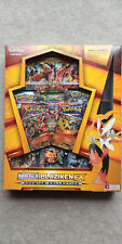 Mega Blaziken EX Premium Collection POKEMON Booster Box Roaring Skies Packs