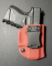 Glock 26/27/33 Blood Red Kydex OWB Right Holster Quick Ship Made in the USA