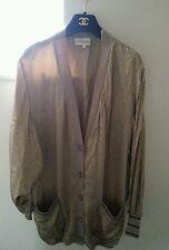 George cross vintage pure silk boyfriend cardigan top dress