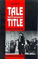 Tale Without Title by Iakovos Kambanellis translated S.E. Constantinidis used PB