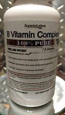 B Vitamin Complex - Superior Absorption - 100% Pure NonGMO Safe from Additives